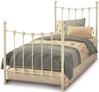 Gladstone Ivory Metal Guest Bed