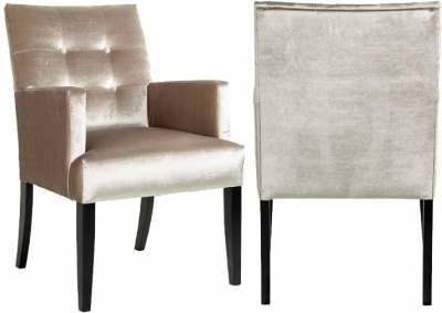 Maxwell Fabric Dining Chair (Pair)