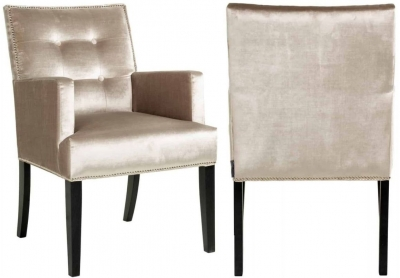 Kenzo Fabric Dining Chair (Pair)