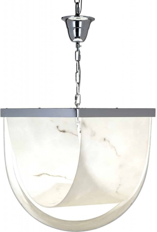 Colbey Marble Look Hanging Lamp