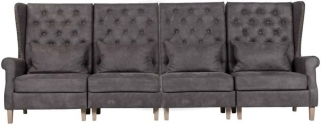 Jonas 4 Seater Fabric Sofa