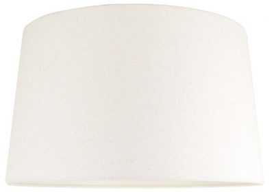 Demi White Large Lampshade