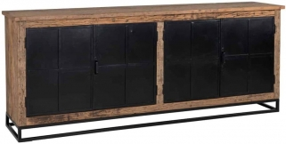 Raffles Recyceld Wood 4 Door Sideboard