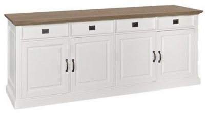 Oakdale 4 Door 4 Drawer Sideboard