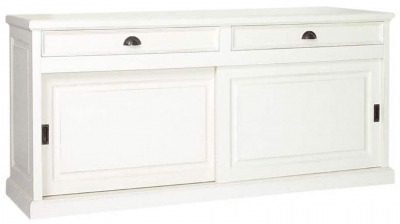 2 Sliding Door 2 Drawer Wide Sideboard
