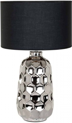 Lois Table Lamp with Black Shade