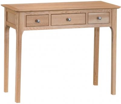 Appleby Oak 3 Drawer Dressing Table