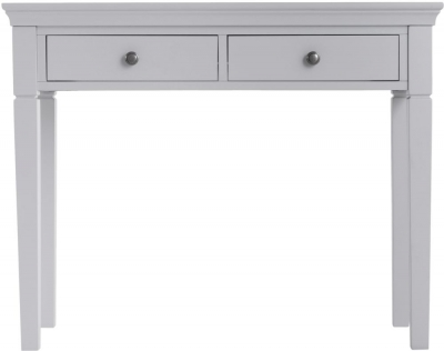 Chantilly Moonlight Grey Painted 2 Drawer Dressing Table