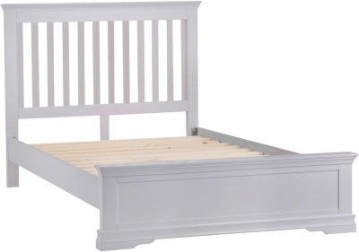 Chantilly Moonlight Grey Painted Bed