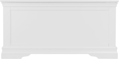 Chantilly White Painted Blanket Box