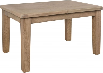 Hatton Oak 130cm-180cm Extending Dining Table