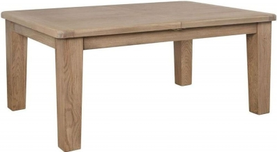 Hatton Oak 180cm-230cm Extending Dining Table