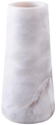 Fawkham White Marble Medium Vase