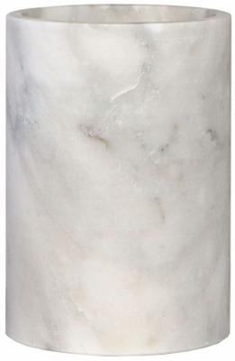 Honiton White Marble Medium Vase