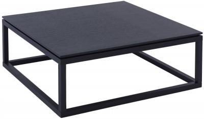 Islington Black Square Coffee Table