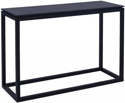 Islington Black Large Console Table