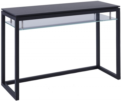 Islington Black Dressing Table with 1 Shelf