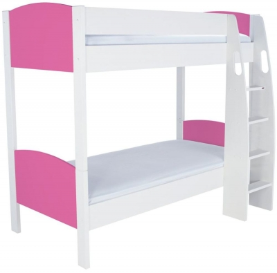 Stompa Detachable Pink Round Bunk Bed