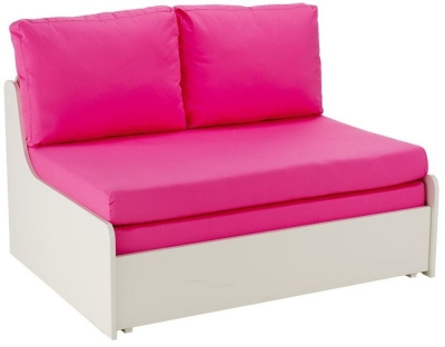 Stompa Pink Double Sofa Bed
