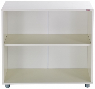 Stompa Bookcase One White Shelf