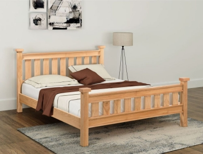 Cambridge Oak 5ft King Size Bed
