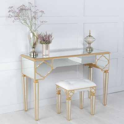 Urban Deco Casablanca Mirrored Dressing Table