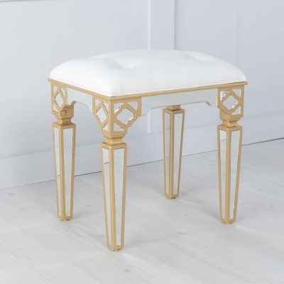 Urban Deco Casablanca Mirrored Stool