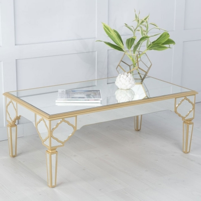 Urban Deco Casablanca Mirrored Coffee Table