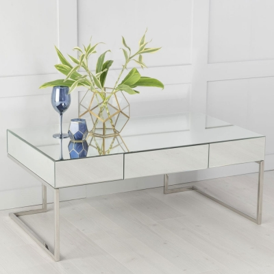 Urban Deco Fenwick Mirrored Coffee Table