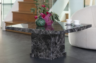 Urban Deco Turin Black Marble Coffee Table