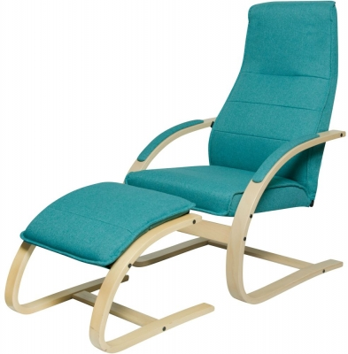 Como Chair with Footstool