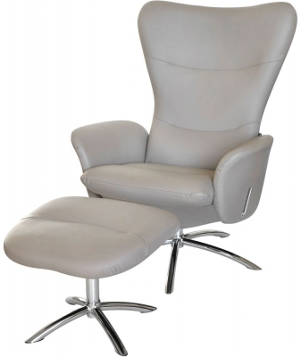 Explode Recliner Chair with Footstool