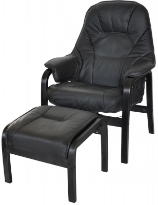 John Recliner Chair with Footstool