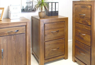 Walnut Filing Cabinets