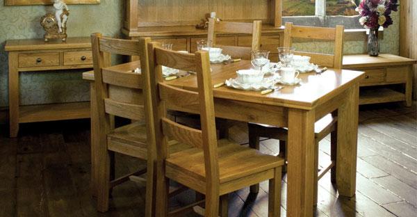 Pine Dining Set