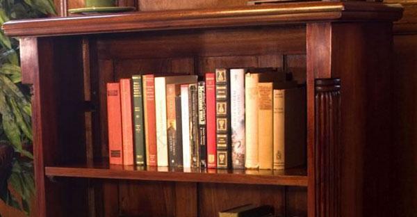 Dark Wood Bookcases