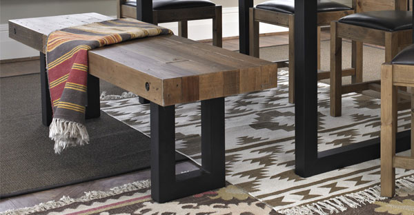 Industrial Dining Benches