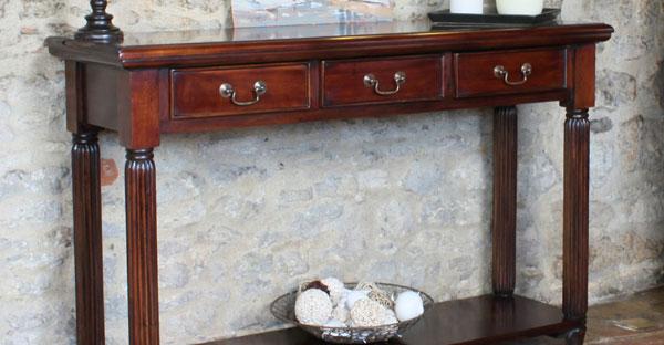 Mahogany Hall Tables