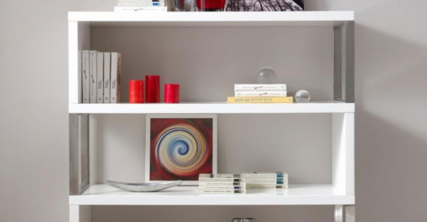 High Gloss Bookcases