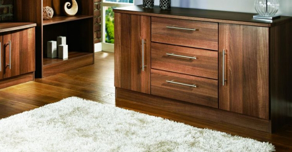 Walnut Hall Cabinet