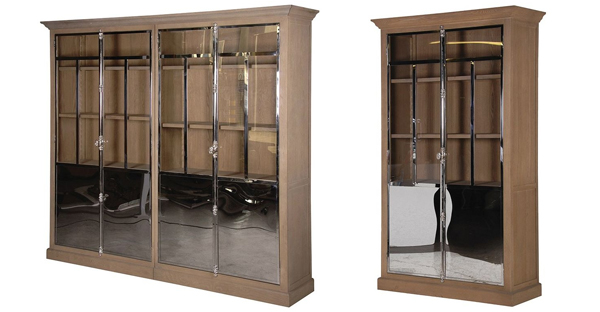 Glass Hall Cabinets