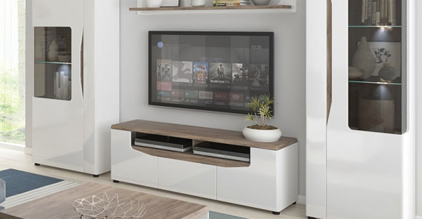 High Gloss Display Cabinets