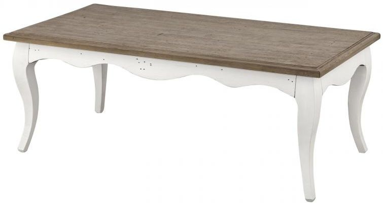 Boggs White Painted Coffee Table