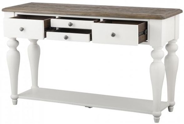 Berwick Painted 4 Drawer Console Table