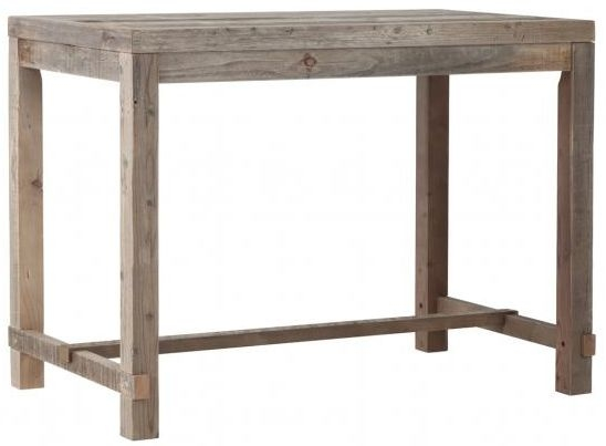 Pocono Reclaimed Wood Large Bar Table