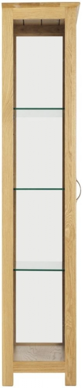 Norton Glass Display Cabinet - Oak
