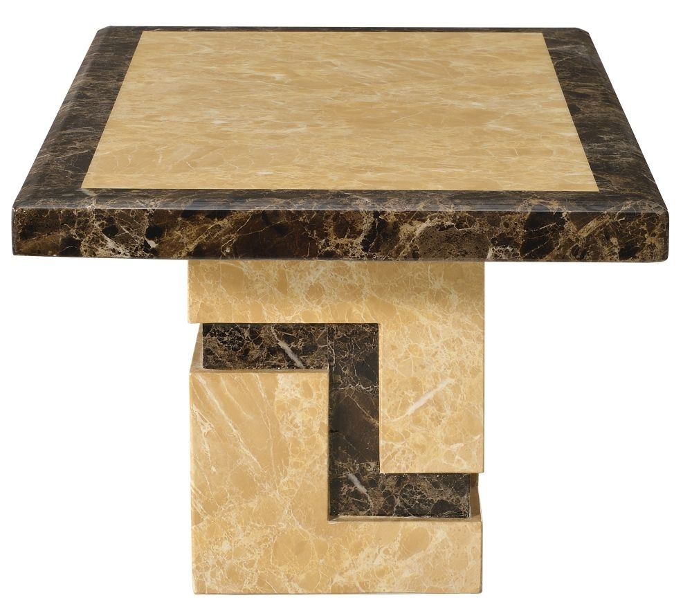 Urban Deco Venice Cream Marble Coffee Table