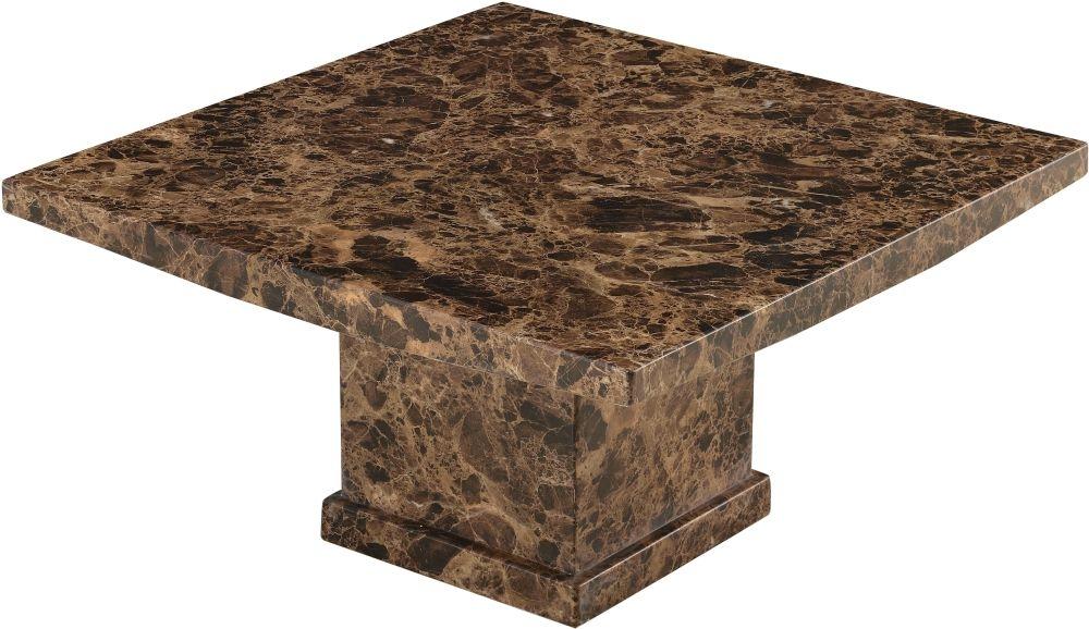 Urban Deco Turin Brown Marble Coffee Table