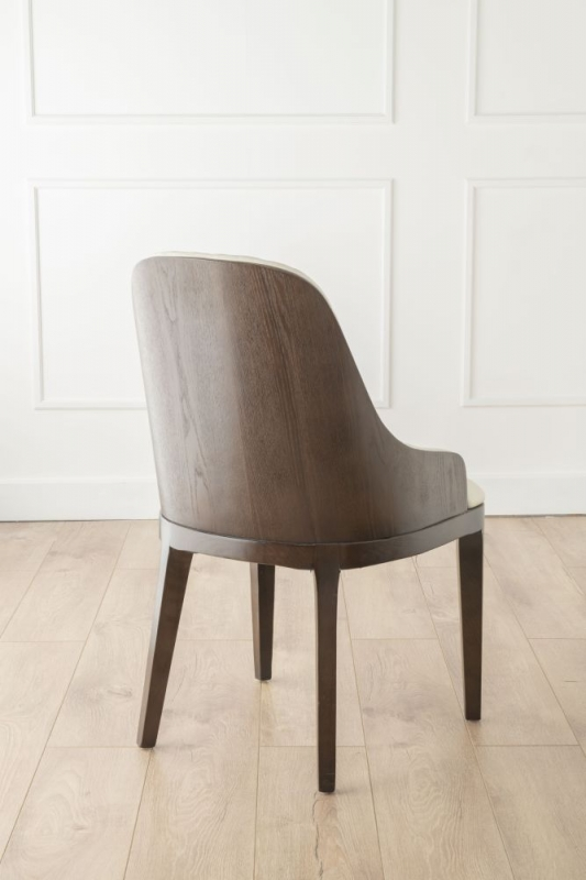 Urban Deco Madrid Beige Faux Leather Dining Chair