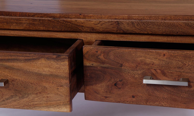 Java Acacia 2 Drawer Coffee Table